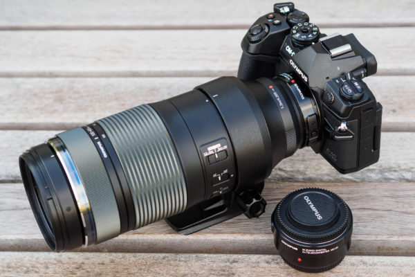 Olympus 100-400mm f/5-6.3 IS with teleconverters